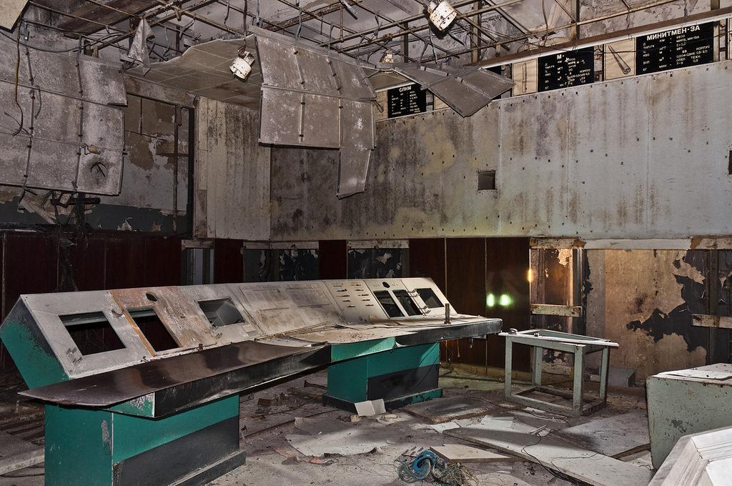 Abandoned Radar Station Of Soviet Missile Defense System
