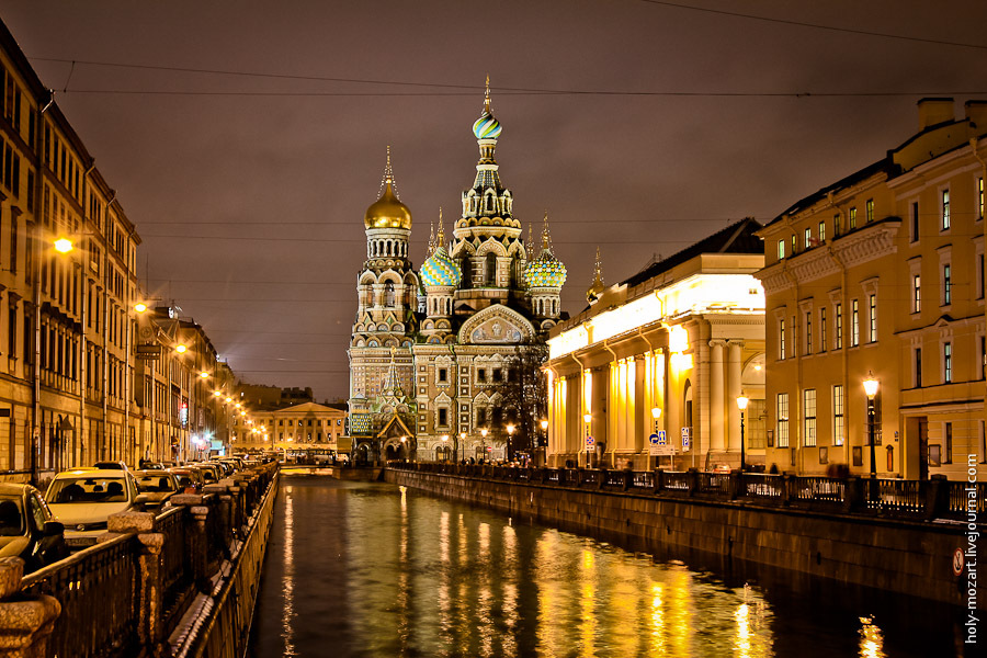 The Day And Night Views Of Saint Petersburg 183 Russia