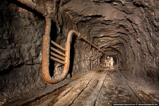 Abandoned mine suspended for years somewhere in Russia view 10