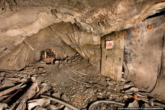 Abandoned mine suspended for years somewhere in Russia view 14