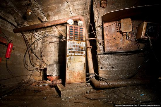 Abandoned mine suspended for years somewhere in Russia view 17
