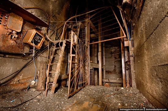 Abandoned mine suspended for years somewhere in Russia view 18