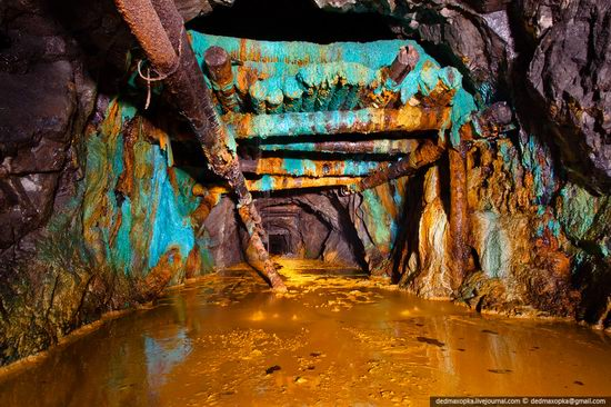 Abandoned suspended mine, Russia
