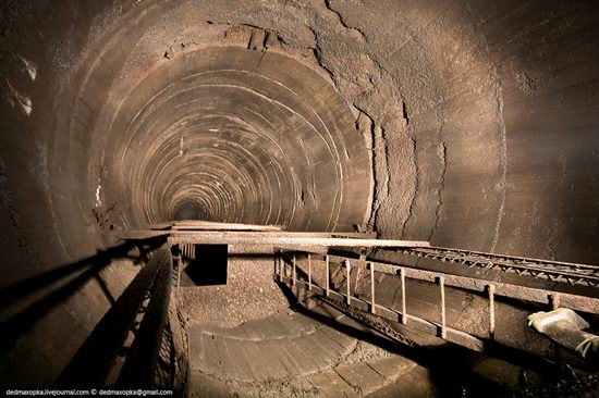 Abandoned mine suspended for years somewhere in Russia view 5