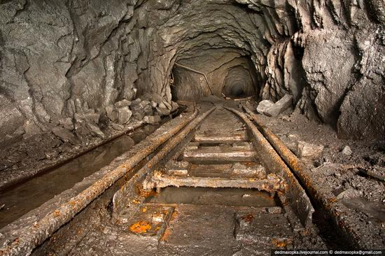 Abandoned mine suspended for years somewhere in Russia view 6
