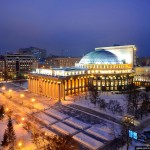 The largest theater building in Russia