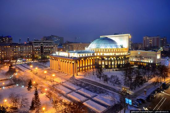 Largest theater building in Russia view 1