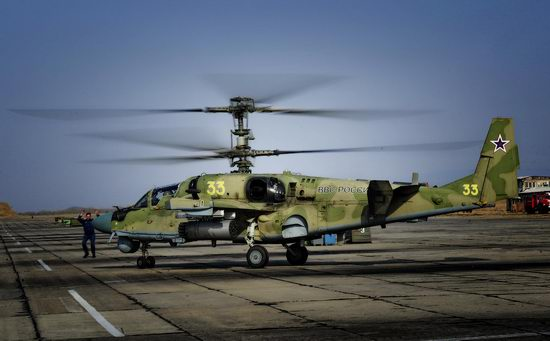 New Russian combat helicopters flights view 10