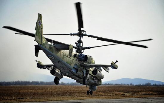 New Russian combat helicopters flights view 11