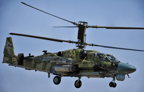 New Russian combat helicopters flights view 15