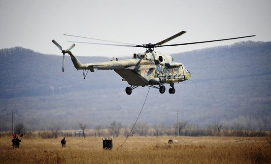New Russian combat helicopters flights view 17