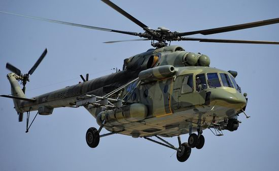 New Russian combat helicopters flights view 18