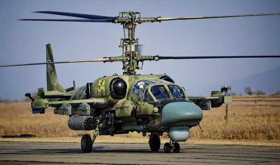 New Russian combat helicopters flights view 24