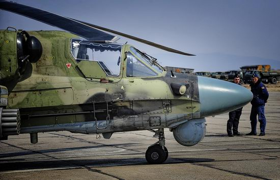 New Russian combat helicopters flights view 4