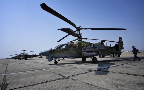 New Russian combat helicopters flights view 6