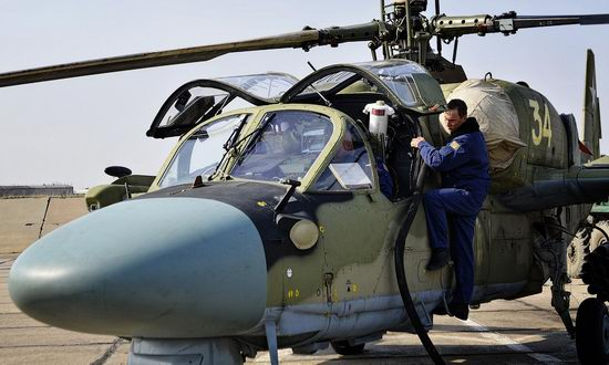 New Russian combat helicopters flights view 8