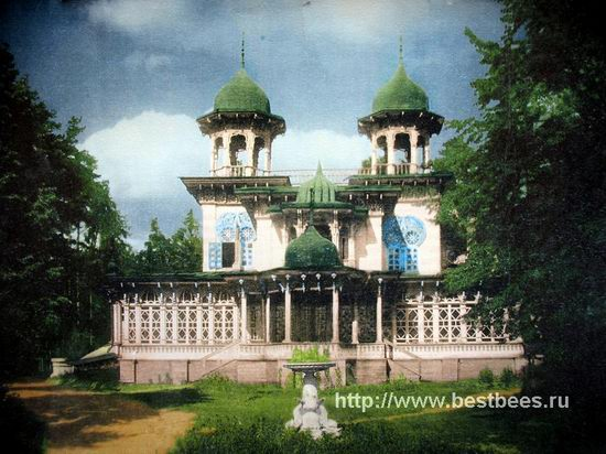 The remains of beautiful Sorokin's dacha, Yaroslavl oblast, Russia view 10