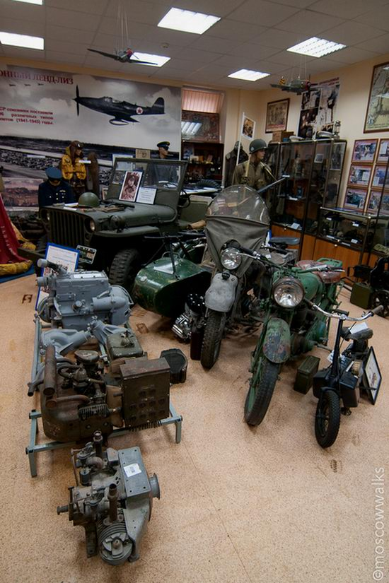 Lend Lease Museum, Moscow, Russia view 2