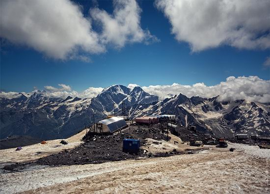 Mount Elbrus - highest peak in Russia view 10