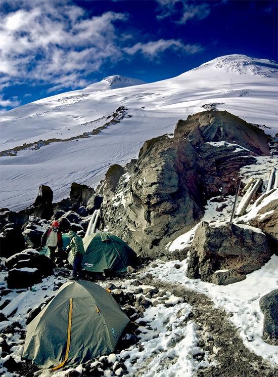 Mount Elbrus - highest peak in Russia view 11
