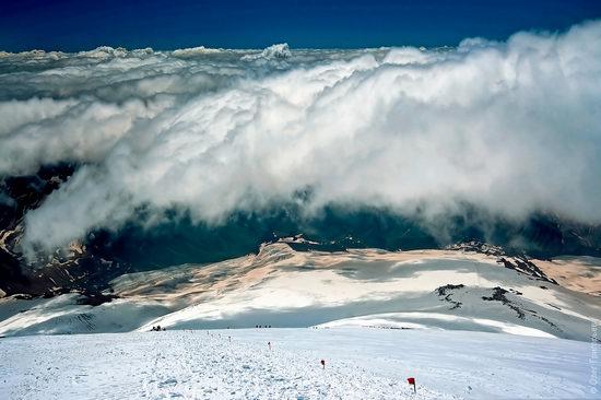 Mount Elbrus - highest peak in Russia view 18