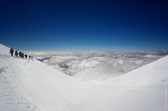 Mount Elbrus - highest peak in Russia view 19