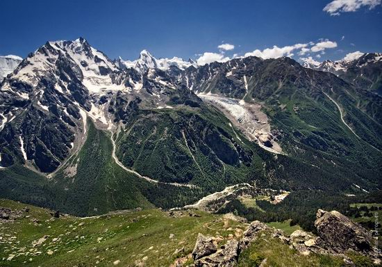 Mount Elbrus - highest peak in Russia view 9