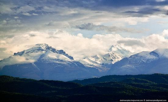 Picturesque view of the North Caucasus, Russia 1