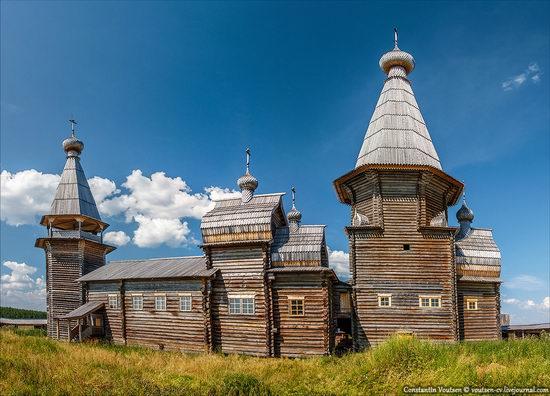 Pochozersky church, Arkhangelsk oblast, Russia view 1