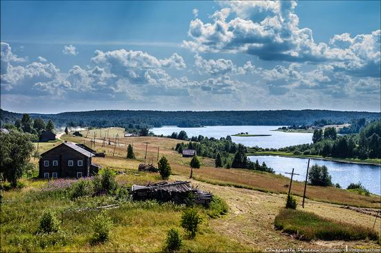 Pochozersky church, Arkhangelsk oblast, Russia view 10