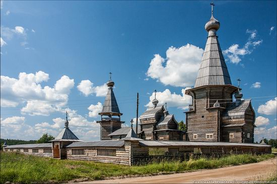 Pochozersky church, Arkhangelsk oblast, Russia view 5