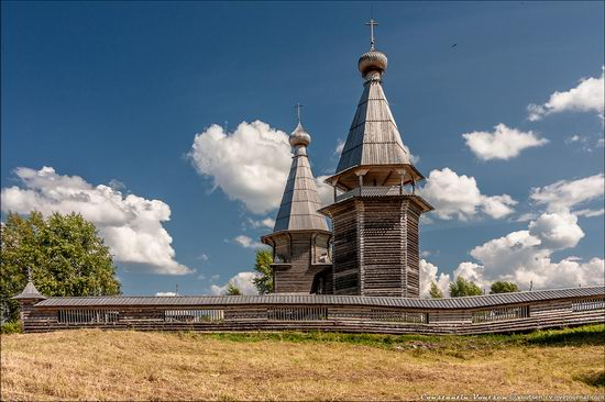 Pochozersky church, Arkhangelsk oblast, Russia view 6