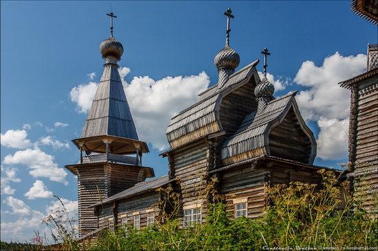 Pochozersky church, Arkhangelsk oblast, Russia view 9