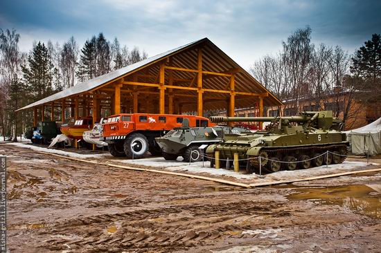 Military-technical museum, Ivanovo, Chernogolovka, Russia view 1