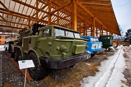 Military-technical museum, Ivanovo, Chernogolovka, Russia view 3