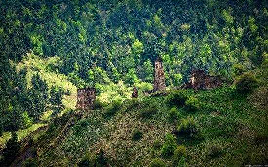 Mountainous Ingushetia, Russia view 10