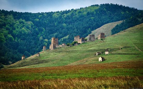 Mountainous Ingushetia, Russia view 12