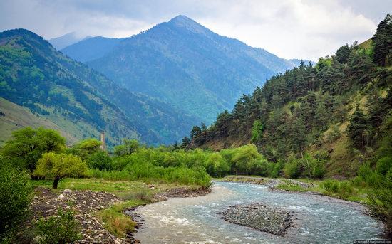 Mountainous Ingushetia, Russia view 13