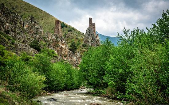 Mountainous Ingushetia, Russia view 16