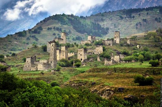 Mountainous Ingushetia, Russia view 18