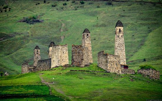 Mountainous Ingushetia, Russia view 2