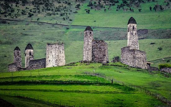 Mountainous Ingushetia, Russia view 22