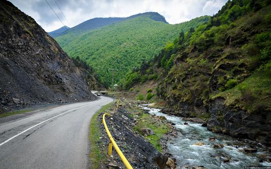 Mountainous Ingushetia, Russia view 4