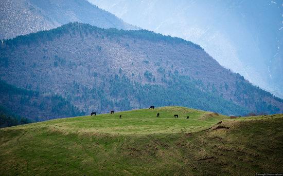 Mountainous Ingushetia, Russia view 5