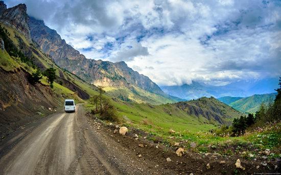 Mountainous Ingushetia, Russia view 6