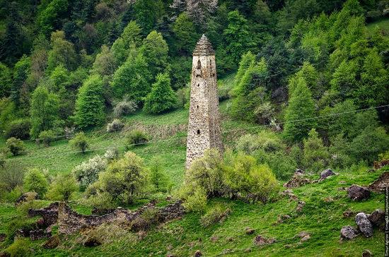 Mountainous Ingushetia, Russia view 9