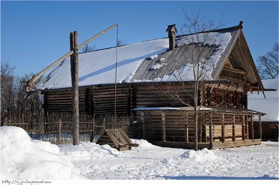 Wooden architecture museum. Novgorod oblast, Russia view 12