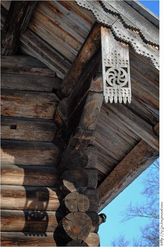 Wooden architecture museum. Novgorod oblast, Russia view 15