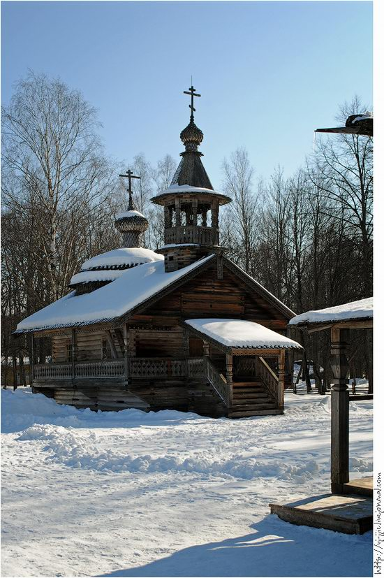 Wooden architecture museum. Novgorod oblast, Russia view 17