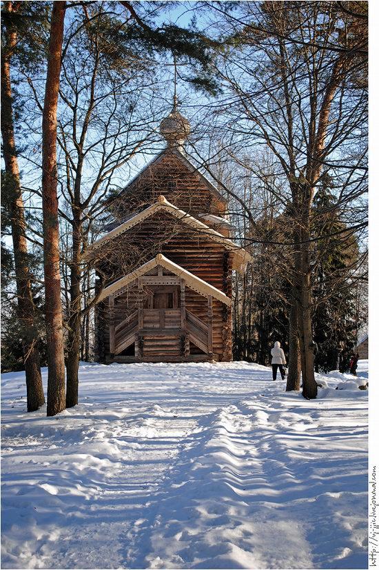 Wooden architecture museum. Novgorod oblast, Russia view 18
